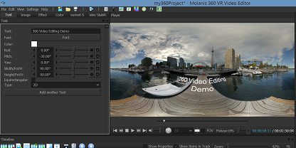 360 Video Layout